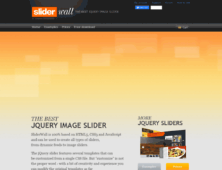 sliderwall.com screenshot