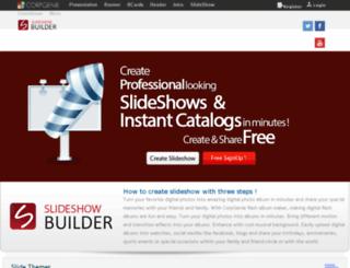 slideshow.corpgenie.com screenshot