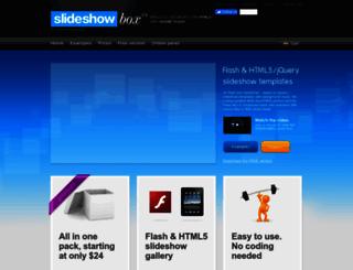 slideshowbox.com screenshot