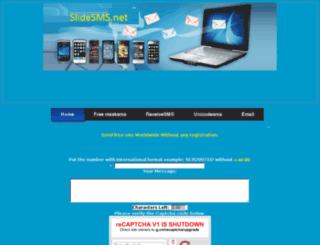 slidesms.net screenshot