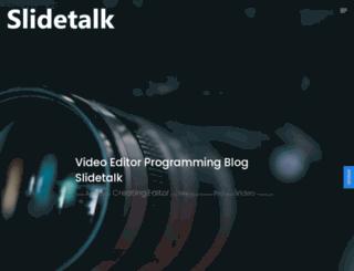slidetalk.net screenshot