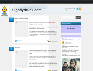 slightlydrunk.blogspot.com screenshot