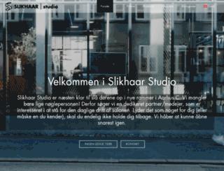 slikhaarstudio.dk screenshot