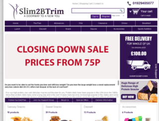 slim2btrim.co.uk screenshot