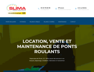 slima.fr screenshot