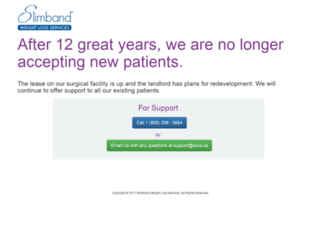 slimband.com screenshot