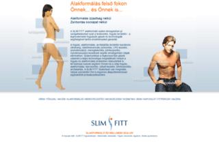slimfitt.hu screenshot