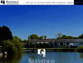 slinfold.intelligentgolf.co.uk screenshot