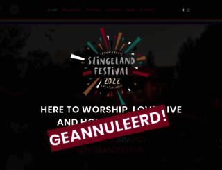 slingelandfestival.nl screenshot