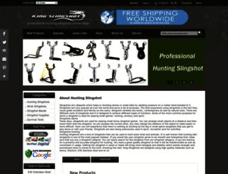 slingshots-hunting.com screenshot