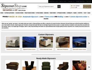 slipcovershop.com screenshot