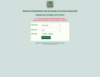 slips.biserawalpindi.edu.pk screenshot