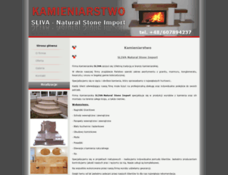 sliva-naturalstone.pl screenshot