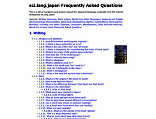 sljfaq.org screenshot