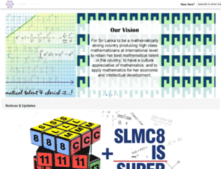 slmathsolympiad.org screenshot