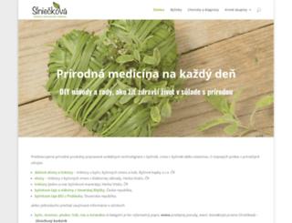 slnieckova.sk screenshot