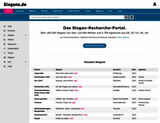 slogans.de screenshot