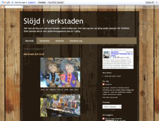 slojdiverkstaden.blogspot.com screenshot