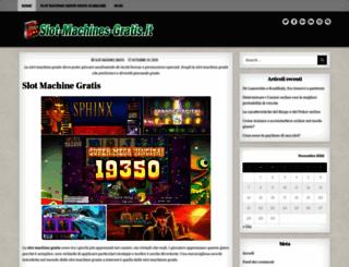 slot-machines-gratis.it screenshot