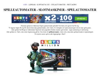 slot-maskiner.se screenshot