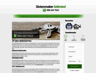 slotenmaker-gelderland.nl screenshot