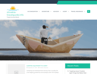 slovakia-travelguide.info screenshot