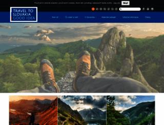 slovakia.travel screenshot