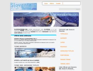 sloveniaterme.com screenshot