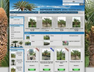 slovenske-tropy.sk screenshot