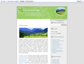 slovensko-dobre.blogspot.sk screenshot