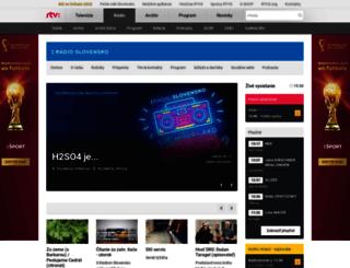 slovensko.rtvs.sk screenshot