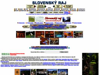 slovenskyraj.sk screenshot