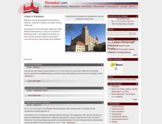 slowakei.com screenshot