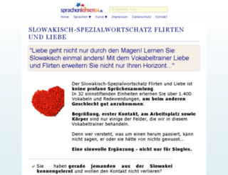 slowakisch-flirtkurs.online-media-world24.de screenshot