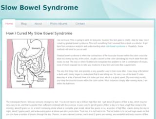 slowbowelsyndrome.webs.com screenshot