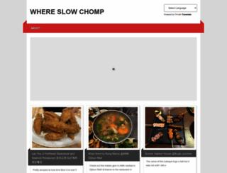 slowchomp.com screenshot