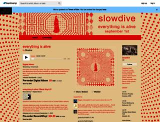 slowdive.bandcamp.com screenshot