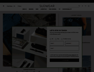 slowear.com screenshot