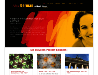 slowgerman.com screenshot