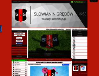 slowianin1953.futbolowo.pl screenshot