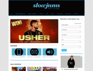 slowjams.com screenshot