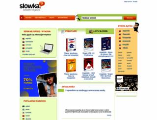 slowka.pl screenshot