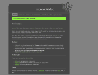 slowmovideo.granjow.net screenshot