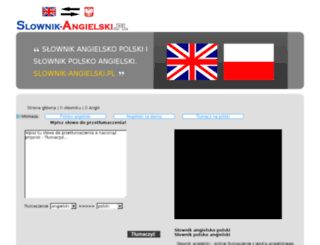 slownik-angielski.pl screenshot