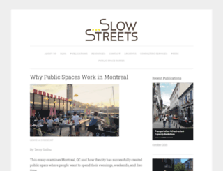 slowstreets.wordpress.com screenshot