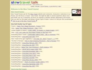 slowtalk.com screenshot