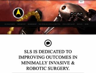 sls.org screenshot