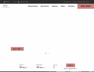 slslux.com screenshot