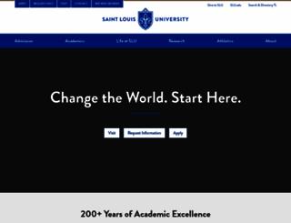 slu.edu screenshot