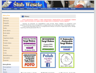slub-wesele.com.pl screenshot